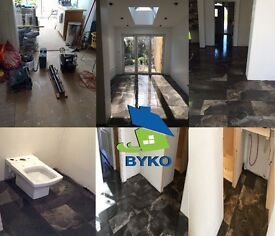 BYKO | EXPERTS IN BUILDING & TILING SERVICES