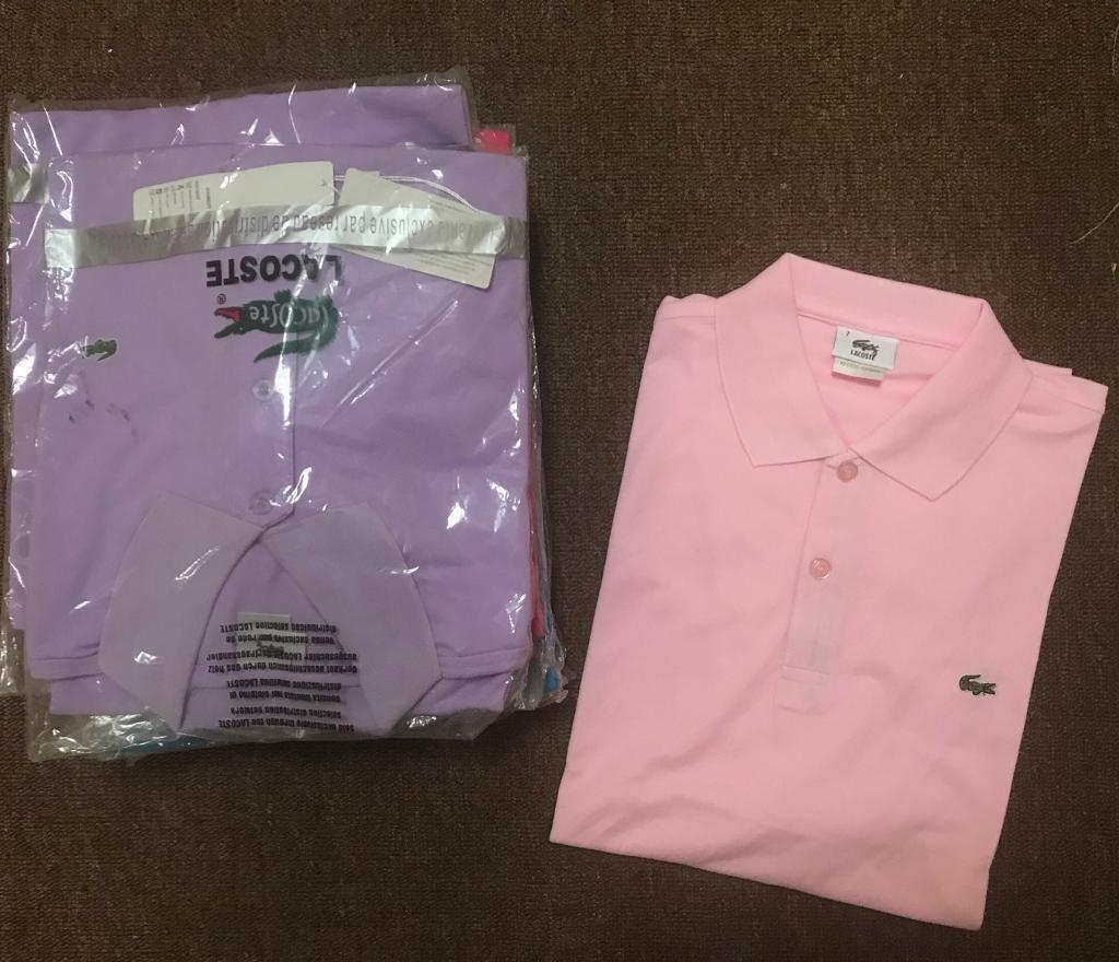 Brand new Purple Lacoste Polo