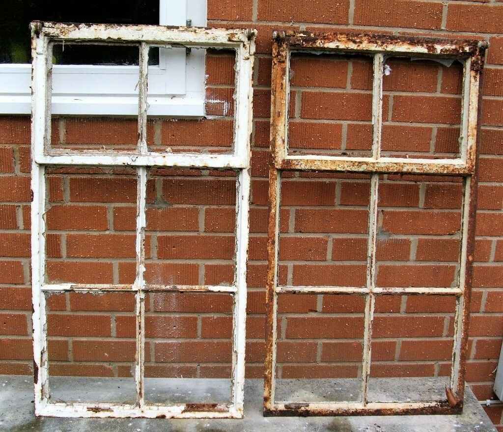 Vintage Iron Windows