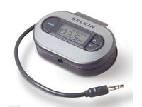 Belkin F8V3080 TuneCast II car radio ipod iphone wireless connection Transmitter