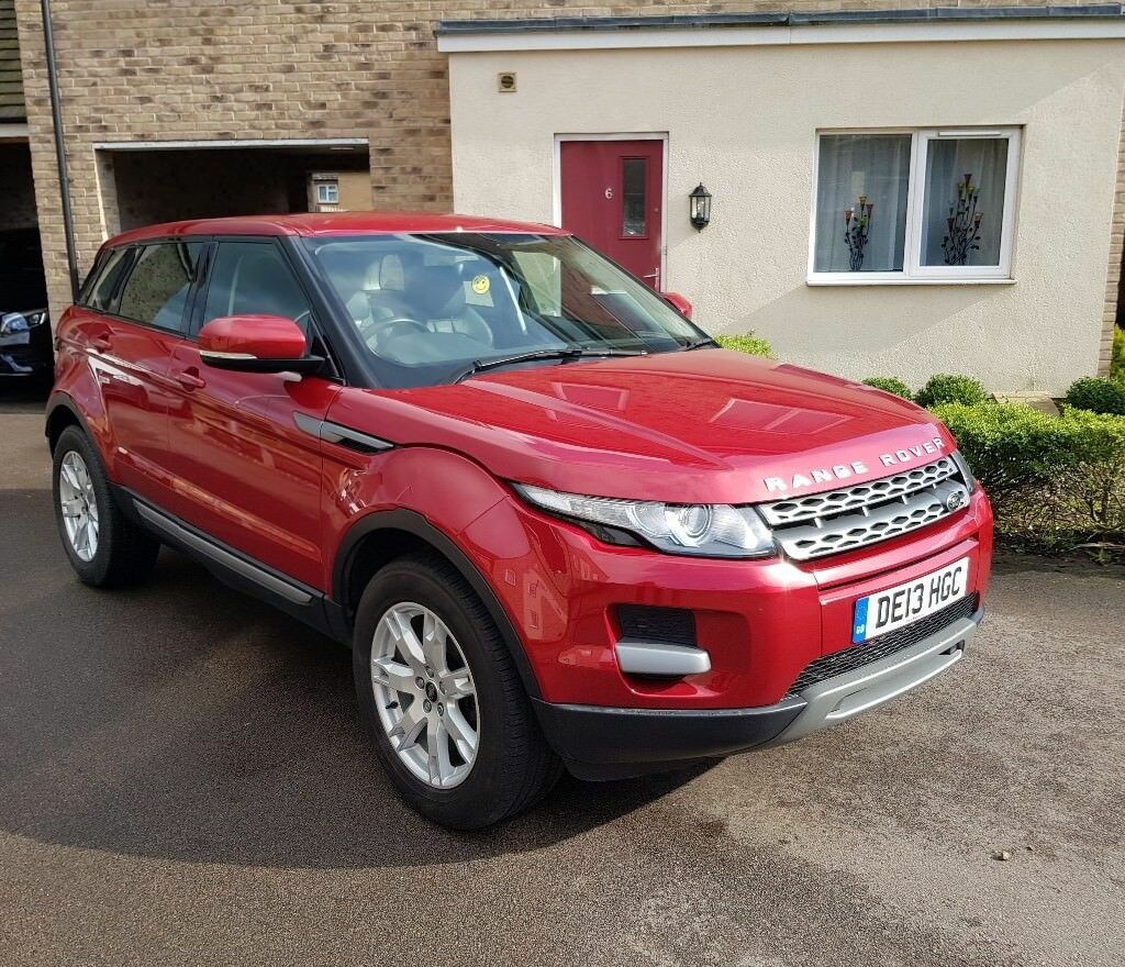 2013 LAND ROVER RANGE ROVER EVOQUE MANUAL DIESEL 64,000