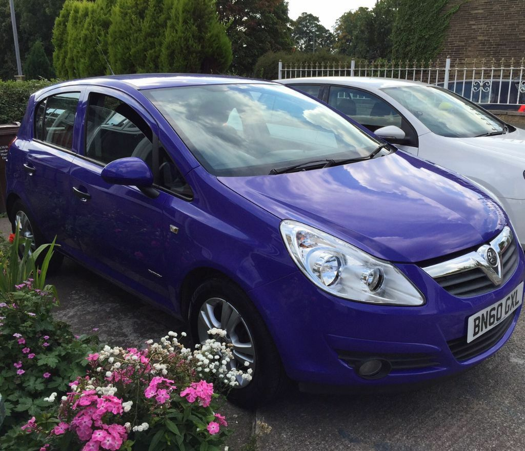 Limited Model Vauxhall Corsa 1.2 5door PURPLE With Full