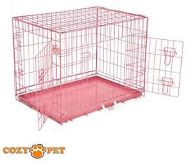 Small pink pet cage!