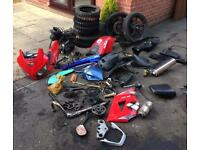 125cc Lexmoto parts and pitbike spares pit bike like dt yz cr ktm rs etc