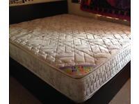Ikea Malm king size ottoman storage bed with mattress