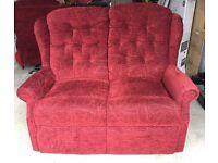 Cintique lift & tilt armchair, 2 Seater sofa and storage stool.