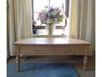 Coffee Table - Limed Oak