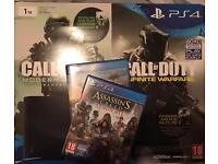 PS4 Slim 1TB (New Model) and 2 Games