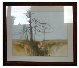 Extra Lagre XL Picture, beautiful framed print of natural