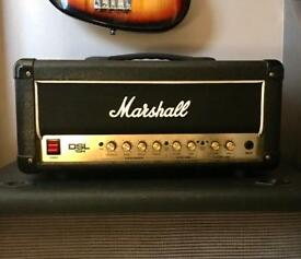 Marshall DSL 15 valve head