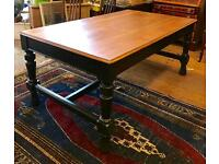 Large 19th Century Victorian Library / Dining Table