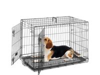 Large dog cage for sale -£20
