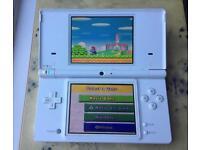 Nintendo Dsi consule and mario game