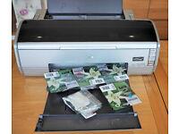 EPSON Stylus R2400 A3 Photo Printer + spare Inks
