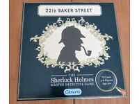 221B Baker Street - Sherlock Holmes Board Game - very good condition