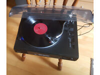 Turntable RCA (AUX, USB) . Record Players , 33 & 45 rpm, In Built Pre Amp