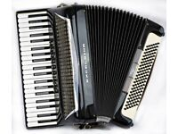 Excelsior 320 Musette Piano Accordion - 120 bass - 4 Voice