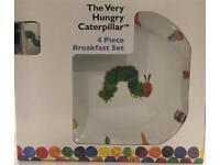 Hungry caterpillar breakfast set - BRAND NEW