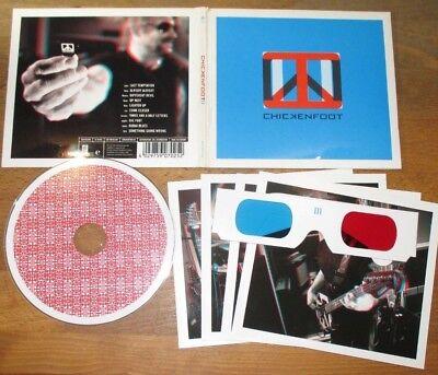 CHICKENFOOT Satriani Hagar - III DigiPak mit 3-D-Brille+ 3D-Bandphotos CD