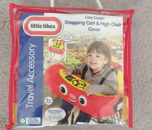 Little Tikes Shopping Cart & High Chair Cover- RED
