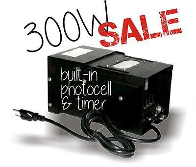 300W outdoor garden low voltage landscape lighting transformer & timer LED watt