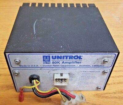 80k Amp Federal Signal Unitrol 80k Amplifier 100w