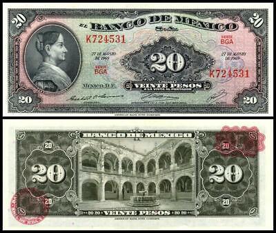"""New Set 20-50-100 Pesos  2016-2017 /""""Ciudad de Mexico/"""" UNC Mexico Banknote P"""