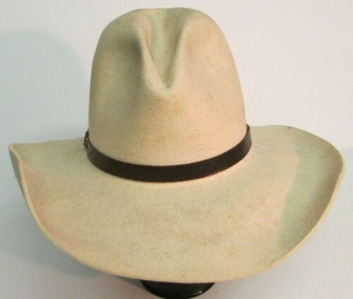 Augustus McCrae GUS TEXAS COWBOY HAT Size 7 1/4 Worn SASS MOVIE PROP HOUSE