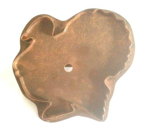 """Martha Stewart Copper Cookie Cutter - """"Big Tom""""  Turkey Large"""