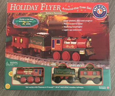 Lionel Holiday Flyer Train Tree Set. Goes Around The Christmas Tree.