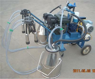 Gasolineelectric Milking Machine Cows- Double Tank Extras - Fedex