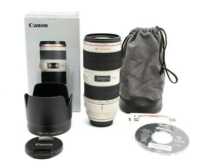 Mint Canon EF 70-200mm f4L USM Lens With Box #30988