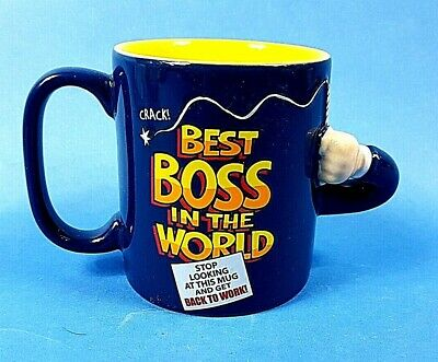 Crack The Whip Best Boss in the World Stop Looking at this Mug Get Back To Work