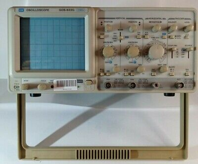 Gw Gos-622g 2 Channel 20 Mhz Oscilloscope Working And Tested