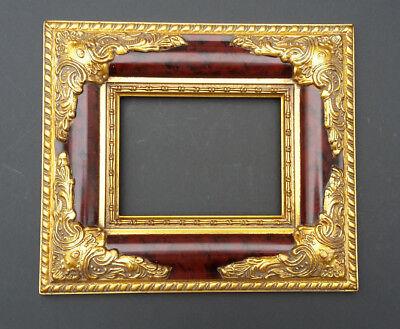 Stilarts Bilderrahmen Gemälde Rahmen Bild Barock Holz Stuck Gold alt antik