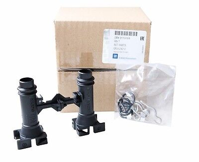 Heizung Schlauch-adapter (ORIGINAL GM OPEL Astra G + Zafira A Adapter Heizungsventil Wärmetauscher 1618188)