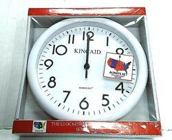 Wall Clock Always Set 10 Kincaid JC803W New