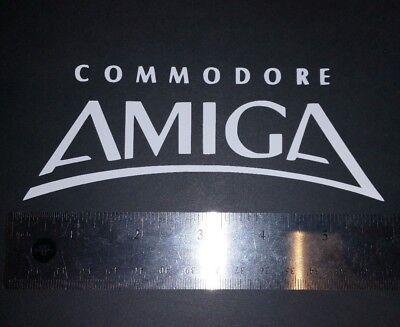 "Commodore Amiga Logo Old Style 6"" Vinyl Sticker/Decal"
