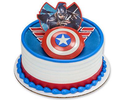 3D Cake Topper ~ Captain America