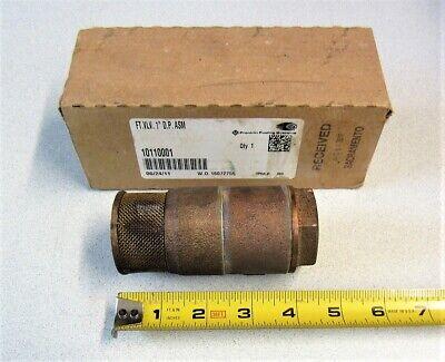 Franklin Fueling Systems Ft. Valve 1 D.p. Asm 10110001 Ft.vlv. 1 D.p. Asm New