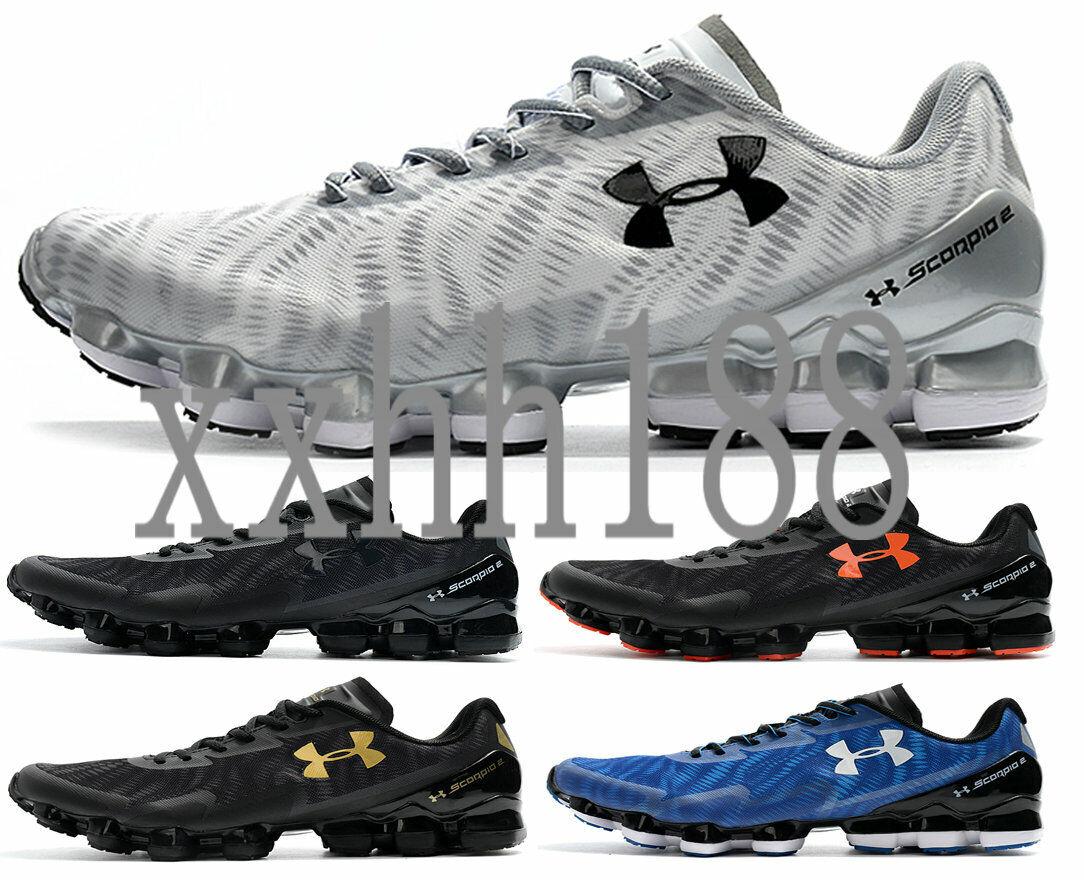 Men/'s Under Armour UA Scorpio Running Shoes Leisure shoes black//orange