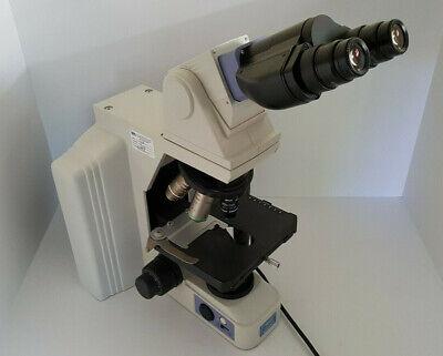 Nikon E600 Eclipse Microscope Ergonomic Binocular Head 4x Objectives Complete