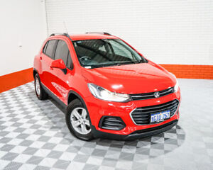 2017 Holden Trax TJ MY17 LS Red 6 Speed Automatic Wagon