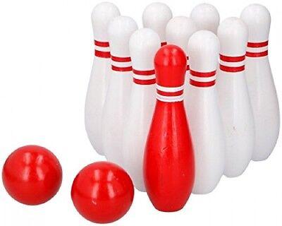 Bowling Kegelspiel Spielzeug Kegel Spiel Holzkegelspiel Mini Bowling  Bowling Spielzeug