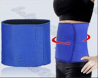 Bauchgürtel  Gürtel FitPro neopren Bauchweggürtel zum schnell Abnehmen blau