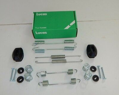 New Lucas MGB Rear Brake Spring Kit for Tube Axle 1968-80 W/ Handbrake + covid 19 (Mgb Rear Axle coronavirus)
