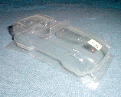 Shelby Cobra Clear Body 1/24th scale Vintage Original Slot Car NOS