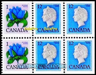 CANADA 1979 CANADIAN QUEEN ELIZABETH FLOWER FV FACE 50 CENT MNH STAMP BOOKLET