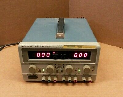 Tektronix Ps280 Dual 0-30vdc 5v Fixed Dc Power Supply Tested Excellent