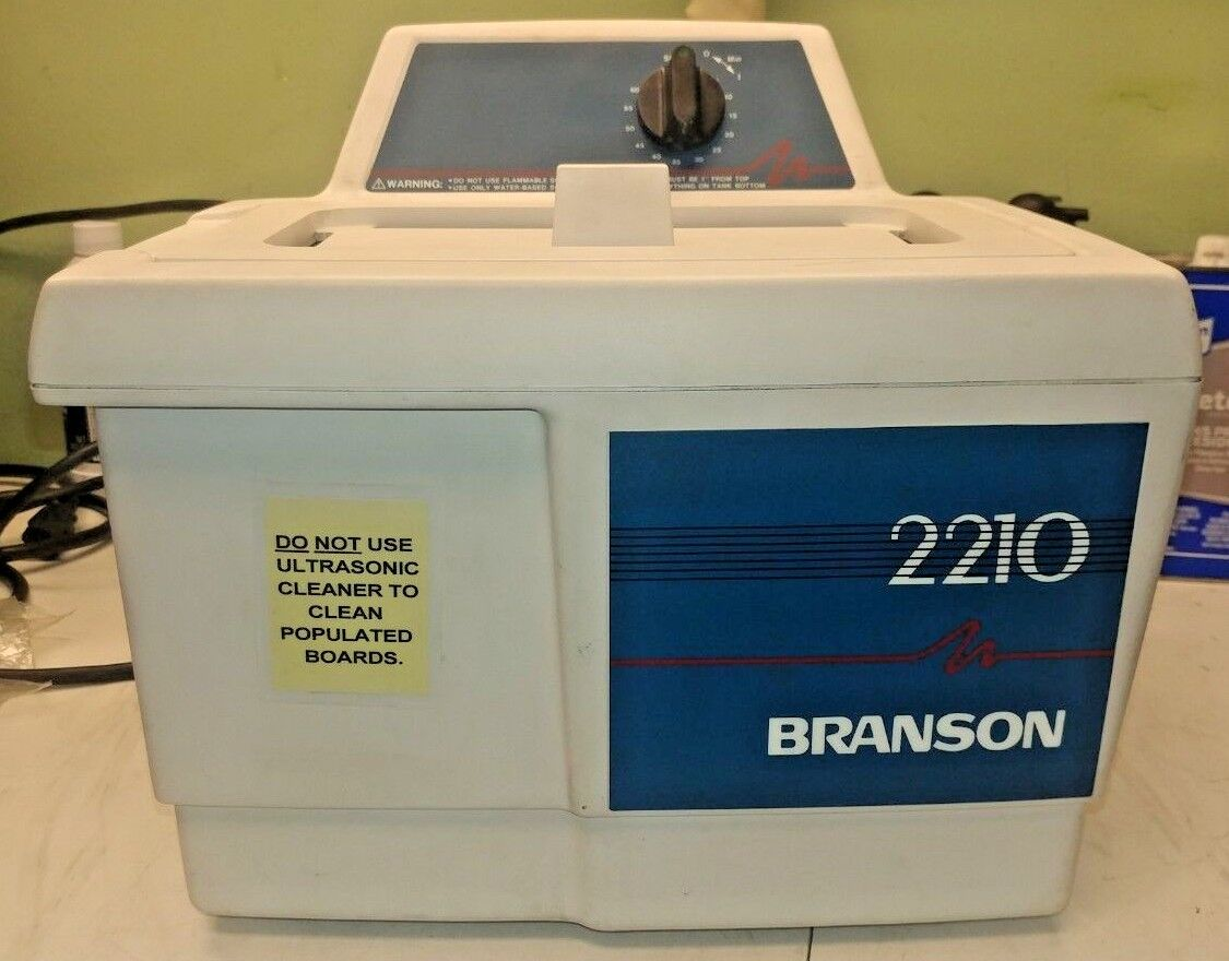 Bransonic 2210 2210R-MT Ultrasonic Cleaner 1